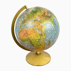 Globe with Metal Base