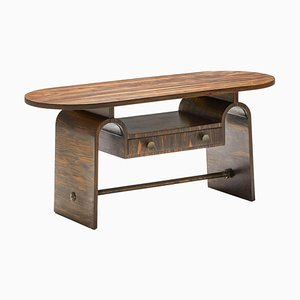 Japanese Style Rosewood Side Table