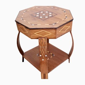 Antique Coffee Table with Marquetry