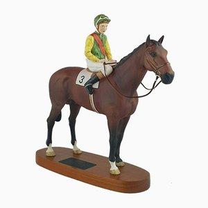 Beswick, Connoisseur Horse Nijinsky, Lester Piggott Up
