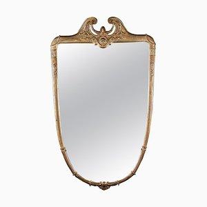 Mid-Century Italian Gilt Wood Mirror, 1950s