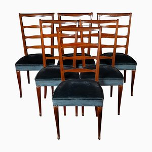 Mid-Century Italian Dining Chairs by Paolo Buffa, 1950, Set of 6
