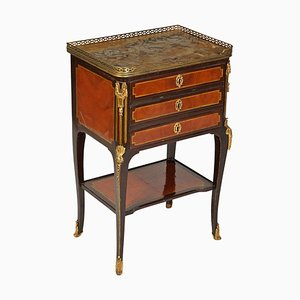 French Gilt Bronze Mounted Table