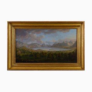 18. Jahrhundert nordeuropäische Landschaft nach Jacob Phillip Hackert, 1780