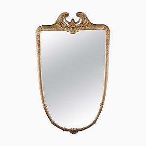 Mid-Century Italian Giltwood Mirror, 1950