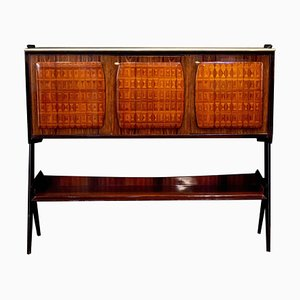 Mid-Century Sideboard or Bar Cabinet by Vittorio Dassi, 1950s