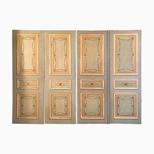 19th Century Italian Painted Doors, Set of 2