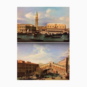 Gemälde mit venezianischer Landschaft, 1940