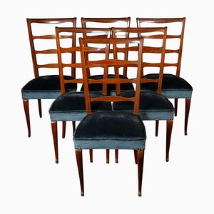 Italian Dining Chairs by Paolo Buffa, 1950s, Set of 6