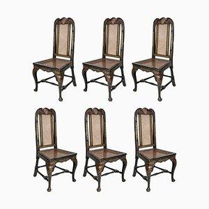 Esszimmerstühle, 18. Jh., 1750er, 6er Set