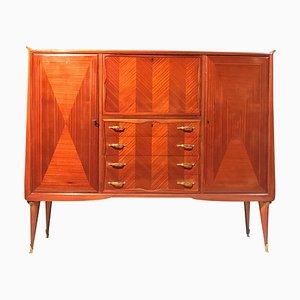 Italian Bar Cabinet in the Style of Paolo Buffa, 1950s