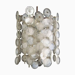 Thousand Moons Chandelier by Carlo Nason for Mazzega, 1960s