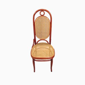 Austrian No. 17 Bentwood Braided Chair from Thonet, 1890