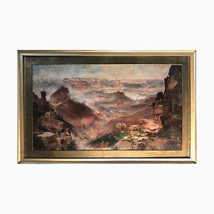 Thomas Moran, the Grand Canyon of the Colorado, 1893, Chromolithograph Print