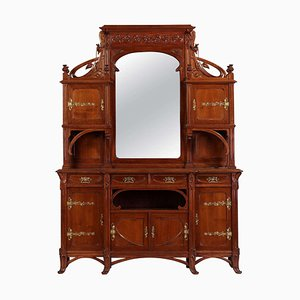 Italian Carved and Gilt-Metal Mounted Sideboard Cabinet