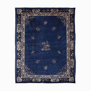 Indigo Blue Peking Rug