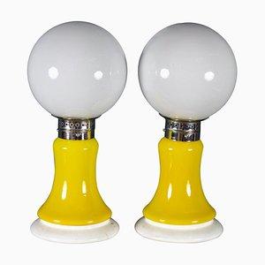 Tischlampen von Mazzega, 1960, 2er Set
