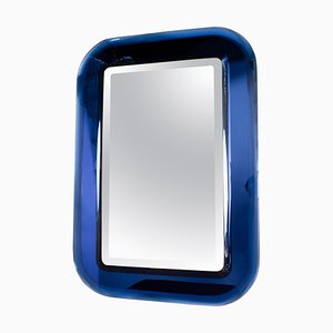 Blauer Spiegel Max Ingrand zugeschrieben