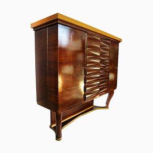 Italian Art Deco Dry Bar Cabinet by Michele Merighi, 1940