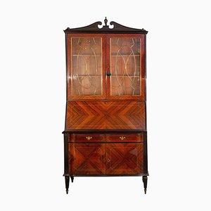Mid-Century Italian Cabinet Bookcase, 1950s