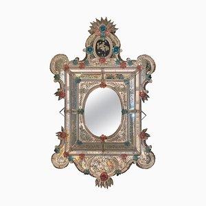 Venezianischer Murano Glas Spiegel