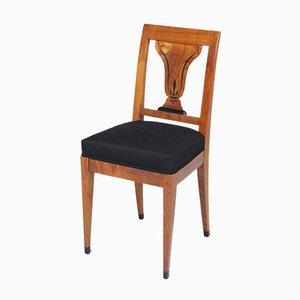 Antique Biedermeier Chair in Cherrywood, 1830s