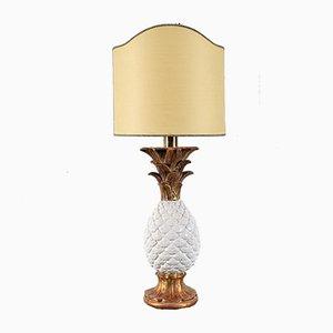 Tischlampe aus Glas & Metall von Ignazio Gardella für Azucena, Italien, 1950er