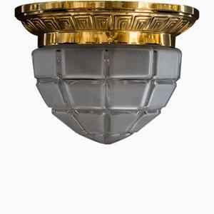 Art Deco Deckenlampe, Wien, 1920er