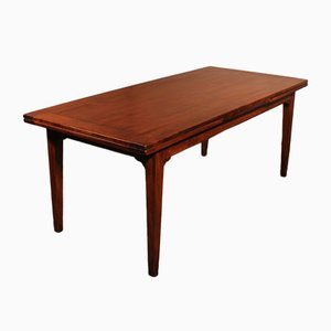 19th Century French Louis XVI Extending Table in Cherrywood