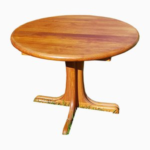 Danish Extendable Teak Dining Table with 2 Inserts