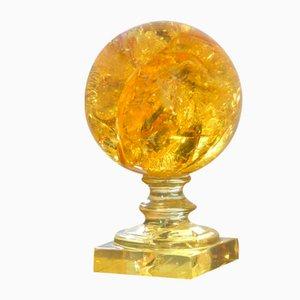 Sphere in Fractal Resin by Pierre Giraudon