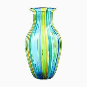 Vaso in vetro di Murano soffiato multicolore di Urban per Made Murano Glass, 2019