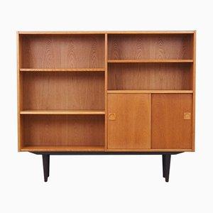 Dänisches Bücherregal aus Eschenholz von Farsø Furniture Factory, 1970er
