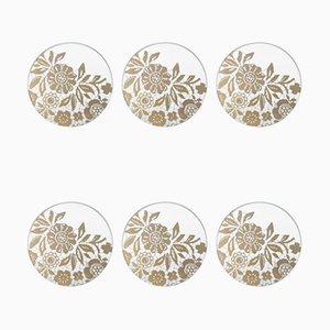 Bon Ton Chic Coasters by Bica-Good Morning Design, Set of 6