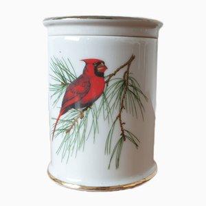 Porzellan Vogel Box
