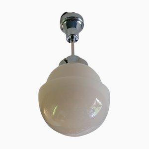 Globe Art Deco Functionalism Ceiling Lamp, 1930s
