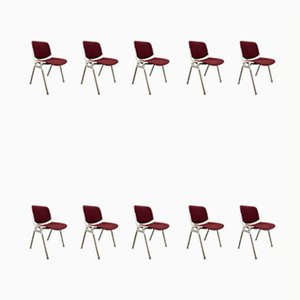 Chairs by Giancarlo Piretti for Castelli, Set of 10