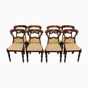 Victorian Hoop Back Dining Chairs, 1900s, Set of 8