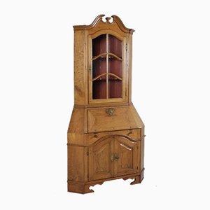 Antique Oak Corner Cabinet, 18th Century