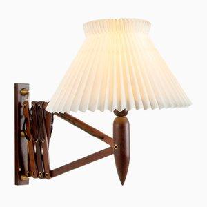 Rosewood Scissor Lamp from Lyfa, Denmark, 1960s
