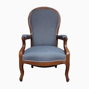 Biedermeier Armlehnstuhl aus Kirschholz