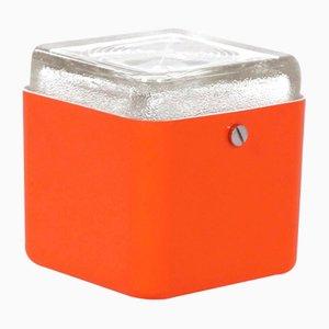 Orange Cube Lamp by Lamperti Robbiate, Italy, 1970s