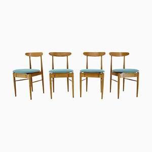 Dining Chairs by Alan Fuchs for ULUV, Czechoslovakia, 1960s, Set of 4