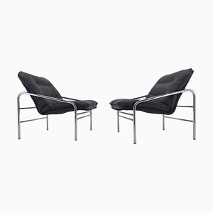 Lounge Chairs, Germany, 1970s, Set of 2