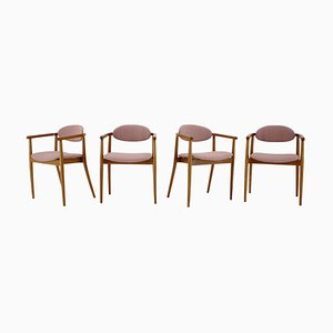 Dining Chairs by Antonin Suman for Ton/Thonet, Czechoslovakia, 1960s, Set of 4