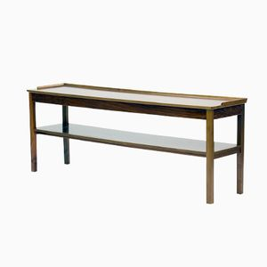Swedish Mahogany Console Table by Josef Frank for Svenskt Tenn, 1950s
