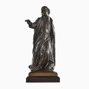 Bronze Archbishop by Bonnassieux for Barbedienne