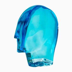 Ego One of a Kind Head Glasskulptur von Ursula Huber
