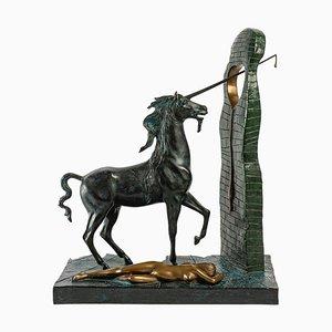 Salvador Dali, the Unicorn, 1977