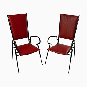 Chairs by Colette Gueden, Set of 2